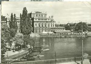 Sweden, Stockholm, Kungl. Operan, 1960 used real photo