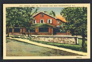 Hendersonville, North Carolina/NC Postcard, Kanuga Lake Inn