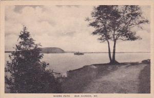 Shore Path Bar Harbor Maine Albertype