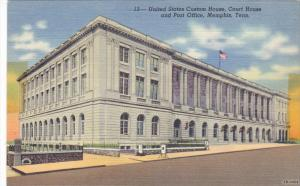 MEMPHIS, Tennessee, 1930-1940's; United States Custom House, Court House And ...