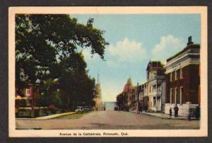 Avenue Cathedrale RIMOUSKI QUEBEC Canada Carte Postalle