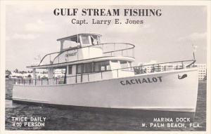 Gulf Stream Fishing On Captain Larry Jones' Cachalot Marina Dock West Palm Be...