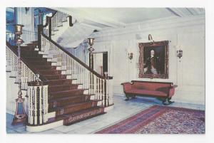 Rochester NY George Eastman House of Photography Front Hall Vintage Postcard