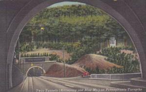 Pennsylvania Bedford Twin Tunnels On Pennsylvania Turnpike