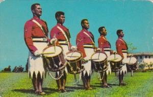 Fiji The Fiji Military Forces Band Drummers 1966