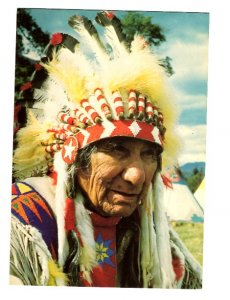 'A Canadian Indian Chief' Headdress, Ceremonial Cloths