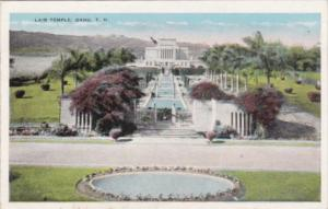 Hawaii Oaho The Lair Temple 1931