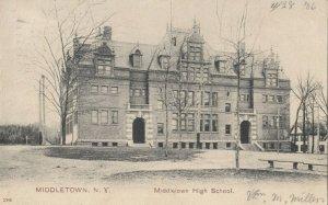 MIDDLETOWN , New York, 1906 ; High School