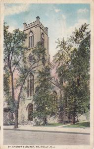 St. Andrews Church, Mt. Holly, New Jersey, PU-1920