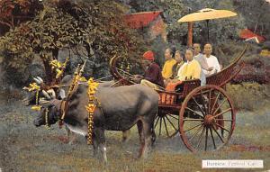 Burma, Myanmar Burmese Festival Cart  Burmese Festival Cart