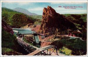 Salt Lake City Water Works, Parley's Canyon