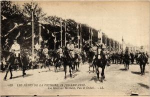 CPA  Militaire - Les Fetes de la Victoire - Berthelot - Pau - Dubail  (696266)