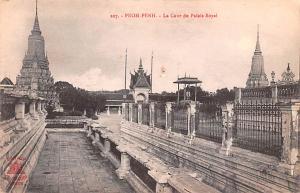 Pnom Penh Vietnam, Viet Nam La Cour de Palais Royal Pnom Penh La Cour de Pala...