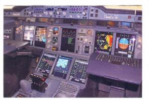 Airbus A380 is the world's largest passenger airplane, 2007 #2 : Cockpit