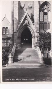 England Oxford Steps and Hall Balliol College Photo