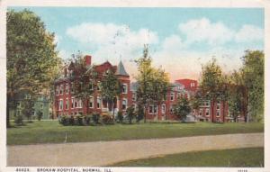 Illinois Normal Brokaw Hospital 1927 Curteich