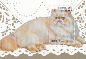 Republique Du Mali Flame Point Himilayan Persian Cat Cats Stamp