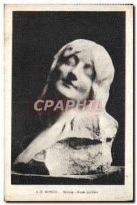 Postcard Old Moncel Reverie Musee Galliera
