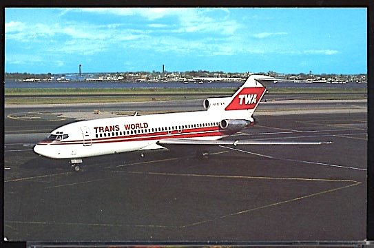Aviation Airplane Trans World Airlines TWA Boeing 727-31