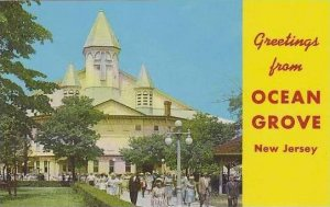 New Jersey Ocean Grove Leaving Sunday Servace At The Famous Ocean Grove Audit...