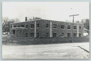 Primghar Iowa~Farm Bureau Building~1950s RPPC