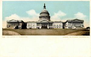 DC - Washington. U S Capitol in 1902