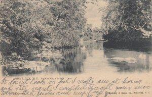 ASHEVILLE, North Carolina, 1908; Swannanoa River