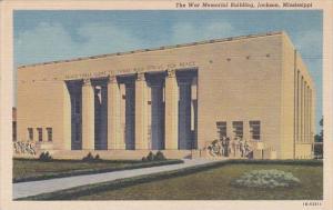 War Memorial Building Jackson Mississippi Curteich