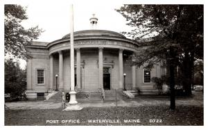 Maine  Waterville , Post Office  , RPC