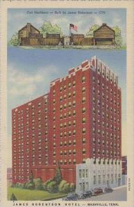 Tennessee Nashville James Robertson Hotel