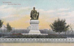 ALEXANDRIE , Egypt , 00-10s ; Monument Nubar Pacha