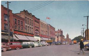 Street Scene , CHARLOTTETOWN , P.E.I. , Canada , 50-60s