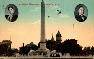 New York Buffalo McKinley Monument 1914