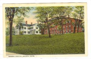 General Hospital, Augusta, Maine, 1900-1910s