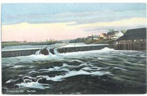 D/B of the Falls at Brownville Maine ME paulspages # 52-000