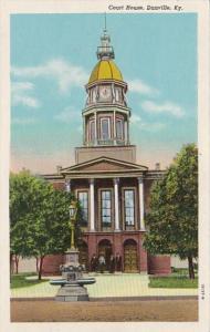 Kentucky Danville Court House Curteich