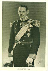Frederik IX Konge Af Danmark