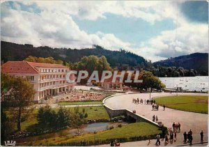 Modern Postcard Gerardmer Vosges Picturesque Le Rond Point Lake