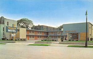 Detroit MI Travler Motel~2745 Cass Ave~Now a Proverbial Parking Lot 1950s PC