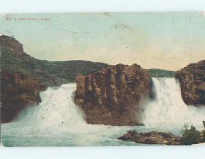 Divided-Back TWIN FALLS Twin Falls Idaho ID HM7176