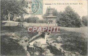Postcard Old Rennes La Voliere Jardin des Plantes