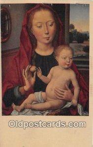 Madonna & Child Unused three stapes top edge
