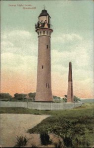 Queenscliff Australia Lower Lighthouse c1910 Used Postcard