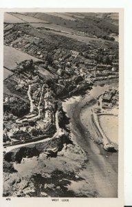 Cornwall Postcard - Aerial View of West Looe - Ref TZ1431
