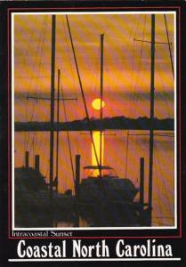 North Carolina Wilmington Intracoastal Sunset Coastal North Carolina 1999