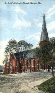 St. John's Catholic Church Bangor ME 1914