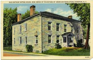 Captain Tappan House Daughters of American Revolution Kingston New York pm 1951