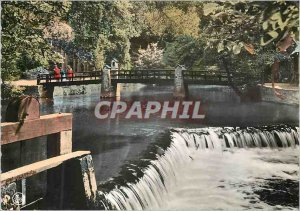Old Postcard Han sur lesse dam out of caves
