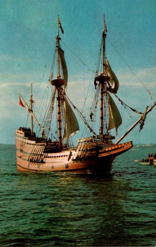Massachusetts Plymouth Mayflower II At Plimouth Plantation Eel River Site