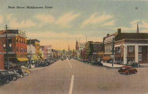 MIDDLETOWN , Connecticut, 1930s-40s ; Main Street